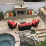 3rd Street Outdoor Living New pool, spa, fireplace & BBQ.